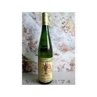 Vin d'Alsace RIESLING VENDANGE TARDIVE Grand Cru Pfersigberg 2007 Domaine Huentz à Husseren-Les-Châteaux 75cl