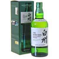 Whisky HAKUSHU 70cl  43°  Single Malt Japon  Distiller's Reserve