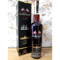 AH Riise Royal Danish Navy Rum CASK STRENGHT 55° 70cl