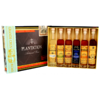 RHUM PLANTATION COFFRET DEGUSTATION  CIGARE BOX 6:10CL 42°