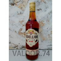 REBELLION SPICED RUM 70cl 37°  Médaille d'Or Rhum Fest 2014