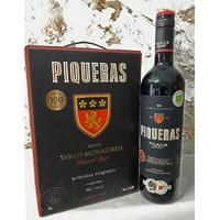 PIQUERAS BLACK LABEL ALMANSA 2015 75cl 14° Vin Rouge Bio Espagne