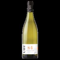 UBY BLANC N°4 Côtes de Gascogne Gros et Petit Manseng 2017 75cl 11° Lutte Raisonnée