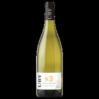 DOMAINE UBY N°3 Colombart_Ugny blanc 2017 Côtes de Gascogne 75cl 11° LUTTE RAISONNEE
