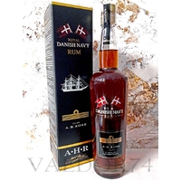 AH Riise Royal Danish Navy Rum COPENHAGEN 1888 GOLD MEDAL RUM 40° 70cl