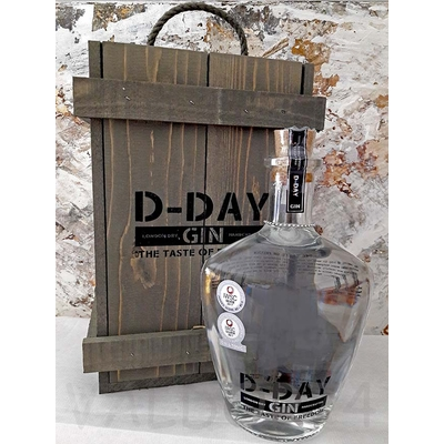 D-DAY Gin 6 JUIN 1944 70cl 40,44° à 72€