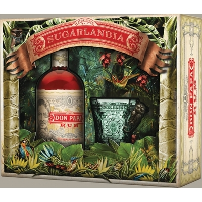 Coffret DON PAPA SUGARLANDIA 70cl 40°
