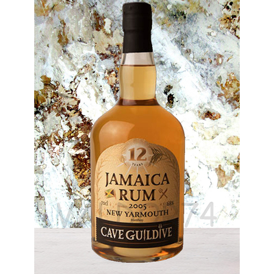 NEW YARMOUTH JAMAICA RUM 2005 CAVE GUILDIVE 70cl 68° à 132€