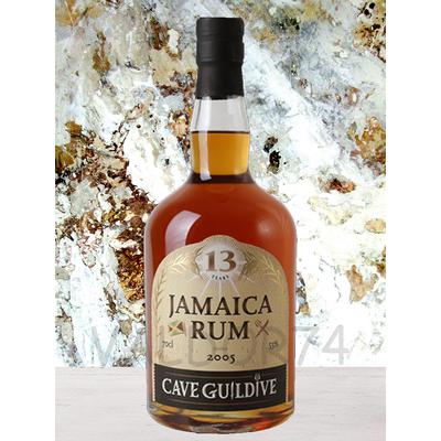 RHUM JAMAICA 2005  13 ans CAVE GUILDIVE 53° 70cl  à 156€