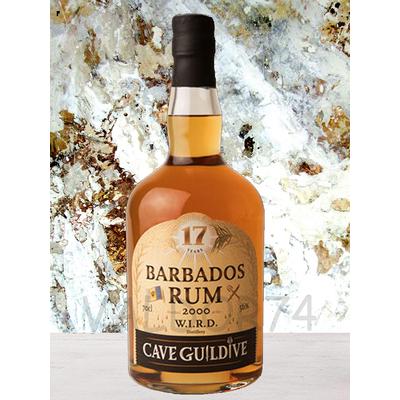 RHUM WEST INDIAN RUM DISTILLERY W.I.R.D. BARBADOS 2000 CAVE GUILDIVE 70cl 56° à 199€