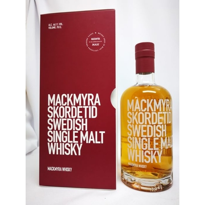 WHISKY MACKMYRA SKORDETID SWEDISH SINGLE-MALT AGED IN MASI AMARONE CASK 70cl 46,1° 69€