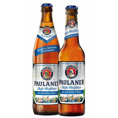 PAULANER HEFE-WEISSBIER ALKOHOLFREI (SANS ALCOOL) 33CL à 2,5€