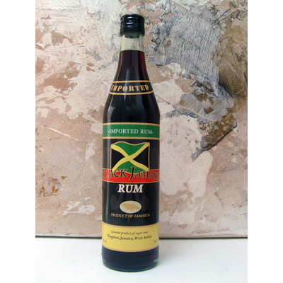 RHUM BLACK JAMAICA 70cl 40° 3