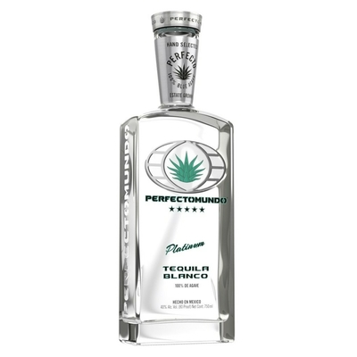 TEQUILA PERFECTOMUNDO BLANCO MEXIQUE 70cl 40° à 39€