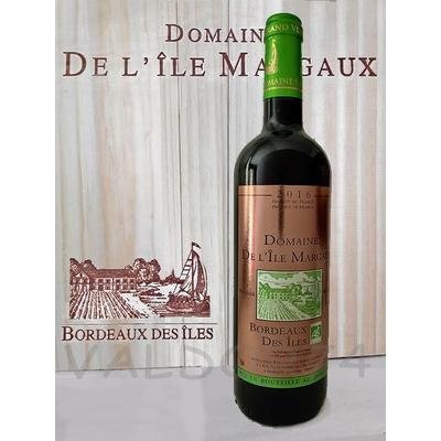 DOMAINE DE L'ILE MARGAUX VIN BIO BORDEAUX 2016 75cl 13,5° à 26€