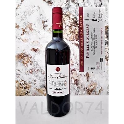 CHATEAU MAROT BELLEVUE BORDEAUX Rouge 2015 75cl 13° à 6€