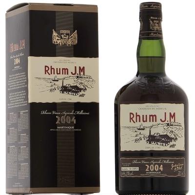 RHUM J.M. 2004 70c l 44,3° Les Héritiers Crassous de Médeuil Distillerie Fonds Préville Habitation Bellevue à 138€