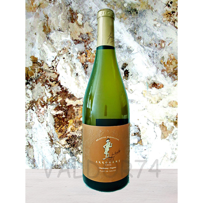 ARROGANT FROG CHARDONNAY-VIOGNIER 2019 Sélection Parcellaire PLOT DE NAUDIT 75cl 13,5° à 7€ TTC/bt