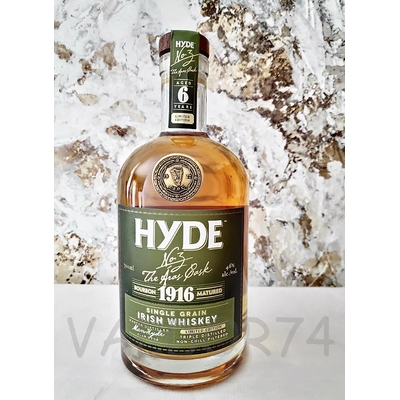 HYDE 1916 IRISH SINGLE GRAIN WHISKY 6Y LIMITED EDITION 70cl 46°