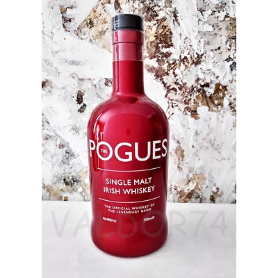 THE POGUES IRISH SINGLE MALT WHISKEY OF THE LEGENDARY GROUP 70cl 40° à 45€