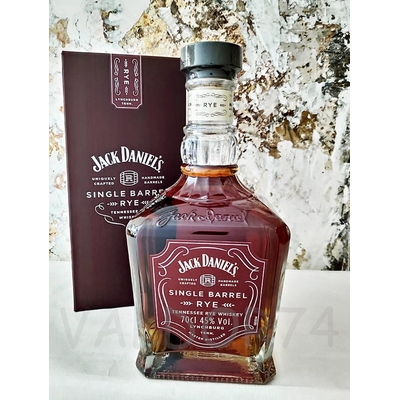 JACK DANIEL'S RYE SINGLE BARREL 70cl 45° TENNESSE WHISKEY à 53€