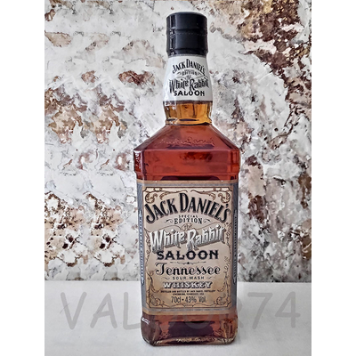 JACK DANIEL'S WHITE RABBIT SALOON 70cl 43° à 38€