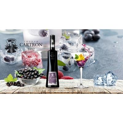 CREME DE CASSIS JOSEPH CARTRON NOUVELLE CUEILLETTE 2020 75cl à 15€