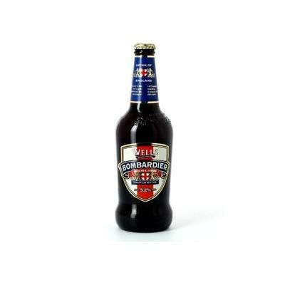 Bombardier English Premium Bitter Bière Anglaise 50cl 5,2°