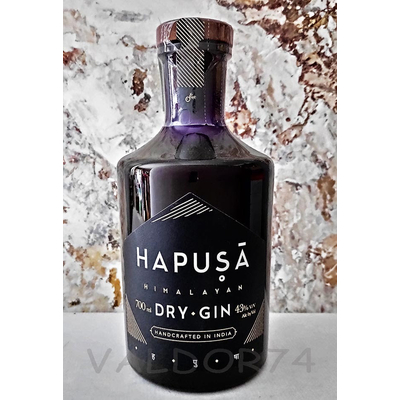 HAPUSA HIMALAYAN HANDCRAFTED GIN 70cl 43° à 47€