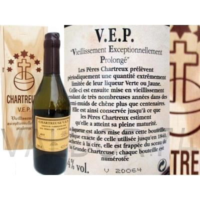 CHARTREUSE V.E.P  LIQUEUR D'ELIXIR  VERTE 50cl 54°
