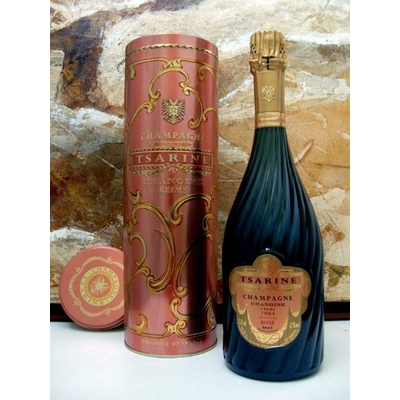 Champagne  TSARINE ROSE Millésimé 2004  75cl 12°
