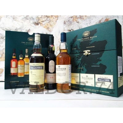 Classics Malts Collection Coffret TALISKER-LAGAVULLIN-CRAGGANMORE