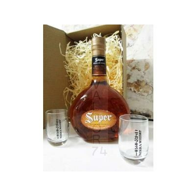 Coffret Whisky japonais NIKKA REVIVAL SUPER RARE OLD 70cl 43° + 2 verres Nikka