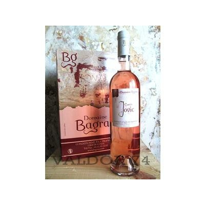 Vin rosé IGP Méditerranée  Rosé Domaine Bagrau FONTAINE A VIN 10L