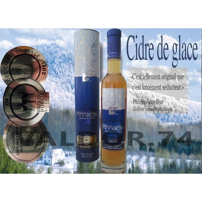 DOMAINE PINNACLE CIDRE DE GLACE 2010 DU QUEBEC 37,5cl à 30€