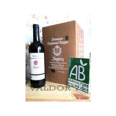 FAUGERES ROUGE AOC Domaine Raymond Roque vin Bio AB FONTAINE A VIN 5L