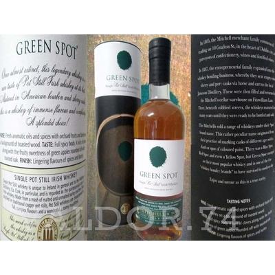 GREEN SPOT 70cl 40° SINGLE POT STILL IRISH WHISKEY à 43€