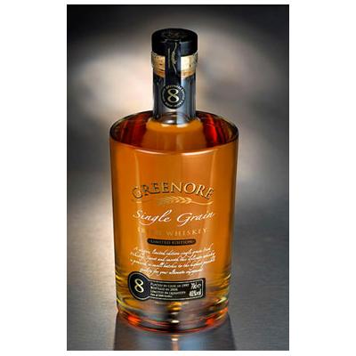 GREENORE 8 ans Irish Single Grain  Whiskey 70cl 40°