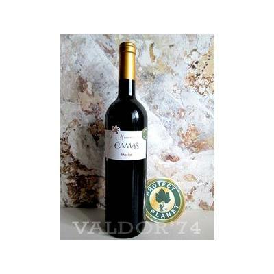 MERLOT Vin du Pays d'Oc Camas Anne de Joyeuse PROTECT PLANETE 75cl