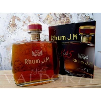 RHUM J.M CUVEE 1845 RHUM AGRICOLE HORS D'AGE HABITATION FONDS PREVILLE 70cl 42° à 110€