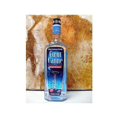 LA FAVORITE Coeur de Canne Rhum Blanc Agricole de Martinique AOC 70cl 50°