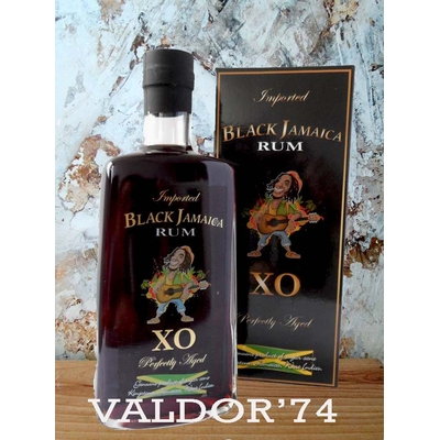 Très Vieux RHUM  BLACK JAMAICA 70cl 40° XO Extra-Old KINGSTON,JAMAICA, WEST INDIES