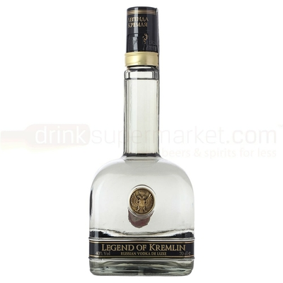 VODKA RUSSE  LEGEND OF KREMLIN  70cl 40°  PREMIUM VODKA