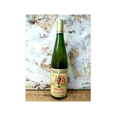Vin d'Alsace PINOT GRIS SELECTION de GRAINS NOBLES Grand Cru EICHBERG 2009 Domaine Kuentz à Husseren-Les-Châteaux 75cl