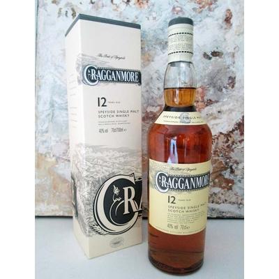 Whisky CRAGGANMORE 12 ans Single Malt Speyside 70cl 40° à 39€