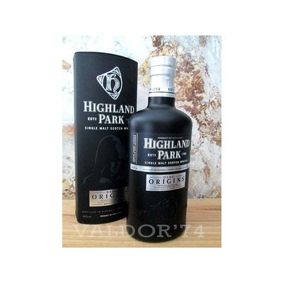 Whisky HIGHLAND PARK DARK ORIGINS 70cl 46,8° Old Single Malt Orcadians Isles Embouteillage officiel