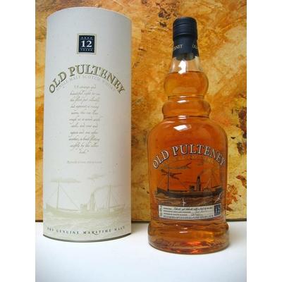 Whisky OLD PULTENEY 12Y Highland Single Malt 70cl 40°