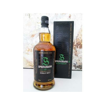 Whisky SPRINGBANK 15 ans Campeltown Single-Malt 70cl  46°