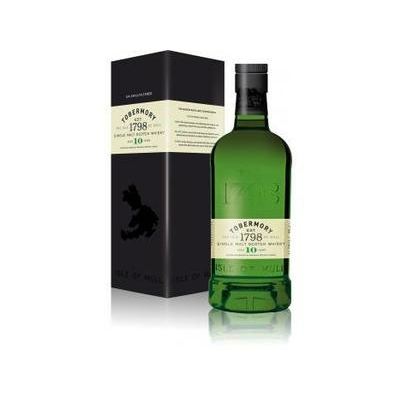 Whisky TOBERMORY 1798 Single Malt Ile de Mull 70cl 46,3°