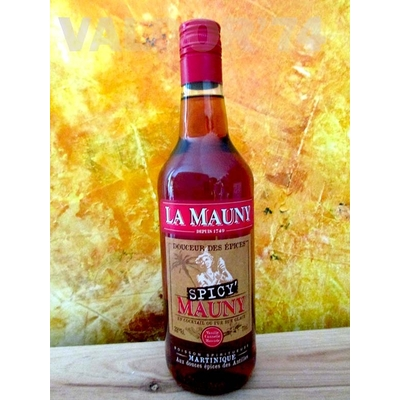 LA MAUNY  SPICY'  70cl 32° Aux douces épices de MARTINIQUE à 29€